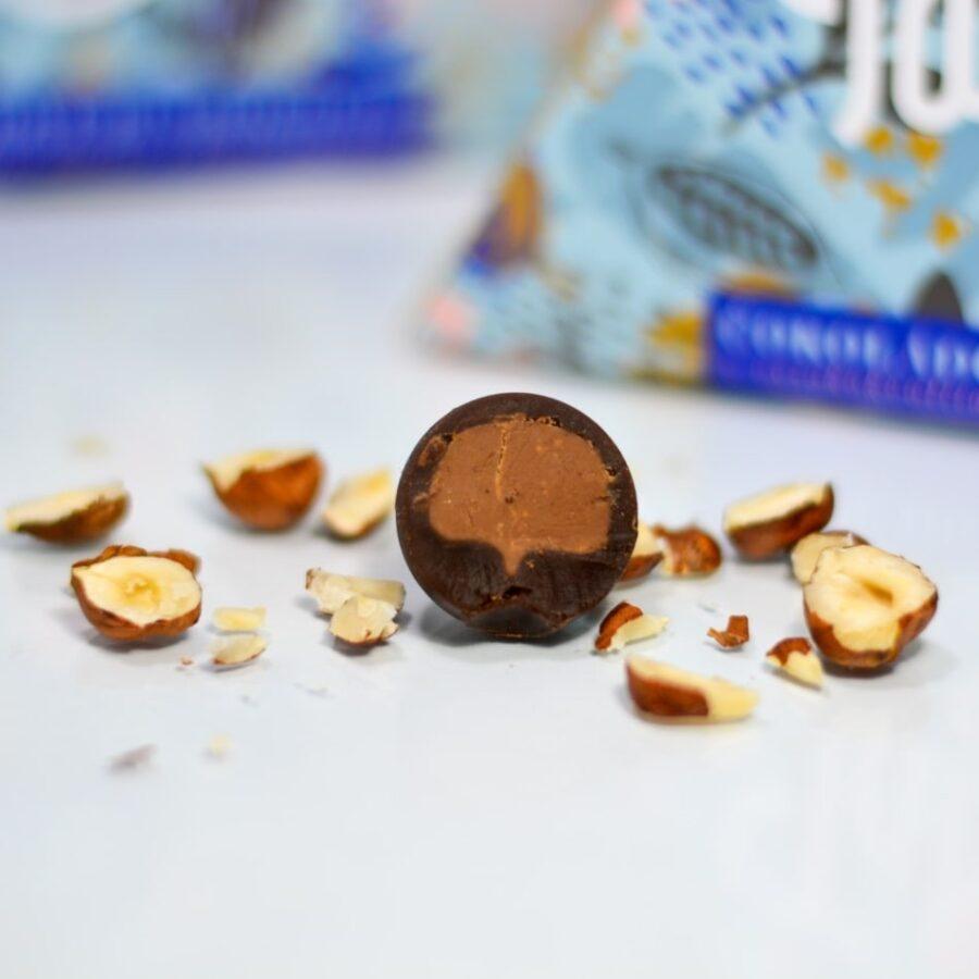 čokoládové blahokoule - gianduja